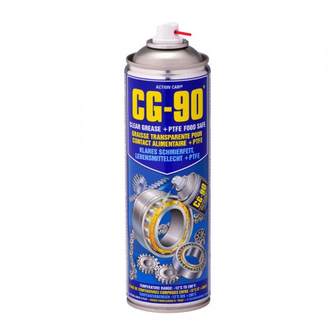 Clear Grease Lubricant + PTFE (Food Grade H1)